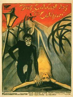 Das Cabinet des Dr. Caligari, 1920.  Expressionismo Alemão.