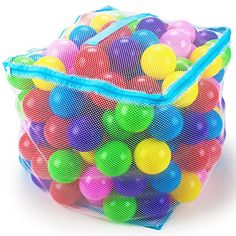 What's the only thing better than a ball pit? Having a personal ball pit all to yourself! So ditch the public indoor playgrounds and bring the ball pit to you. Our of premium plastic ball pit balls will turn any pillow fort, any kiddie pool, any Black Friday Toy Deals, Ball Birthday Parties, Birthday List, 10th Birthday, Baby Cereal, Kids Tents, Bag Storage, Kids Playing, Halloween