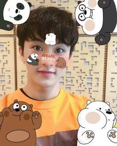 Block B, Exo Kai, Cnblue, Kpop, Watermelon Baby, We Bear, Mark Nct, Jisung Nct, We Bare Bears