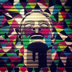 Rua São Francisco, Curitiba, Brasil. Artist?