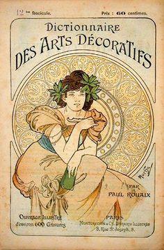 1902......PAR ALPHONSE MUCHA...............PARTAGE DE ART NOUVEAU & ART DECO......SUR FACEBOOK........