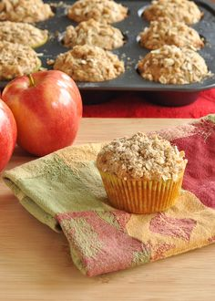 Apple Oat Muffins and What I Ate This Month