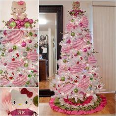 Christmas tree hello kitty