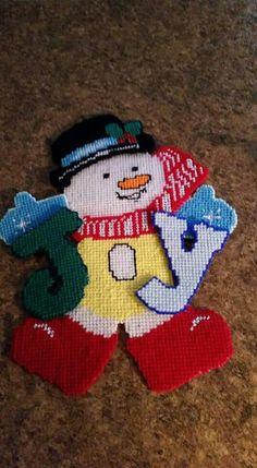 JOY SNOWMAN by MARY MAXIM 1/4
