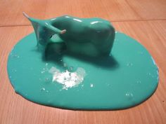 flubber recipe (borax and water and hours of entertainment)