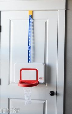 Basketball Goal Toddler Playroom design and decor ideas, Part 5 of Home Tour https://fantabulosity.com