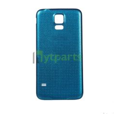Samsung galaxy s5 phone repair parts-Replacement OEM Back Housing Battery Door Cover for Samsung Galaxy S5 Blue