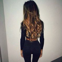 love her hair Bad Hair, Hair Day, Messy Hairstyles, Pretty Hairstyles, Photo Swag, Hair Inspo, Hair Inspiration, Dream Hair, Ombre Hair
