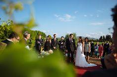 Cerimònia entre vinyes en boda al Penedes - Masia La Torre del Gall