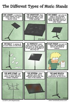 The Different Types of Music Stands Band Nerd, Nerd Geek, Books And Tea, Marching Band Memes, Choir Memes, Memes Marvel, Band Problems, Flute Problems, Flute