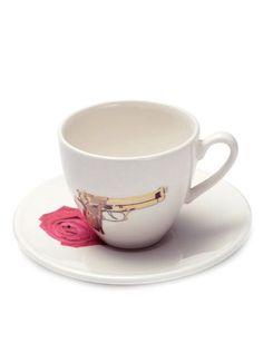 Guns & Roses - teacup and saucer