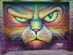 What's new pussy cat? This dope piece is by Shalak in Toronto. Big ups to Swamp Jones (http://globalstreetart.com/swampjones) for helping us cover the art in his city! Photographers: we <3 you!