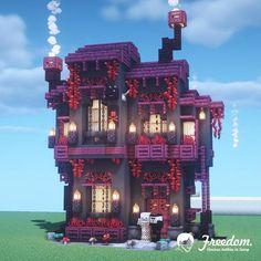 Minecraft Mansion, Minecraft Cottage, Cute Minecraft Houses, Minecraft Room, Minecraft Plans, Minecraft Survival, Amazing Minecraft, Minecraft Blueprints, Minecraft Crafts