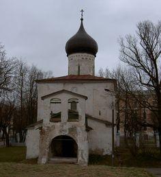 Церковь Георгия со Взвоза. Псков. 1494 г.