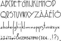 Image result for film drafting lettering