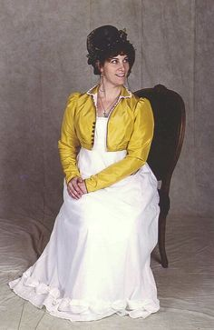 (c.1813 Dress and spencer) - Regency Fitting Tips book $27, download $12 on historicalsewing.com