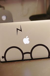Potter- Decal laptop Stickers macbook decal macbook pro decal macbook air decal - Macbook Laptop - Ideas of Macbook Laptop - Potter- Decal laptop Stickers macbook decal macbook pro decal macbook air decal 1040 on Wanelo