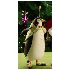 Patience Brewster Krinkles Thaddeus Penguin Christmas Ornament