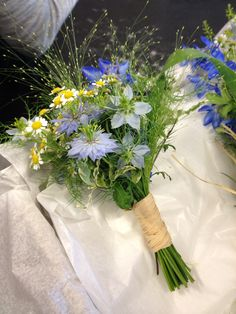 Meadow style bridesmaids bouquet. #ammiflowers #weddingflowers #bridesmaidflowers #wildflowers