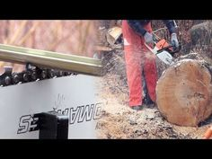 Chainsaw Firewood Cutting Tips 1 - Preparation Equals Success - YouTube