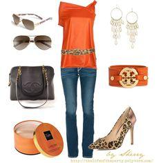 Orange and Leopard...