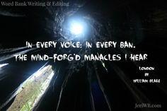 Picture of William Blake Quote