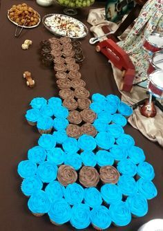 music themed cupcakes - Google Search