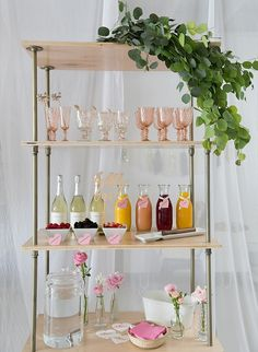 A Bridal Shower Brunch Has To Have A Bubbly Bar Stocked With Mimosa  Essentials.