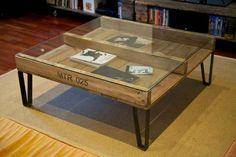 Mesa Con Pallet Reciclado - $ 2.490,00 en MercadoLibre