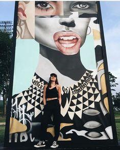 Urban Life, Urban Art, Street Artists, Crop Tops, Instagram Posts, Cute, Women, Fashion, Artist At Work