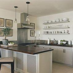 Kitchen Peninsula Design - lovely