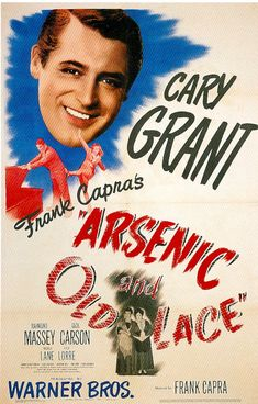 Cary Grant movie posters | Magnet Arsenic and Old Lace Cary Grant movie poster magnet