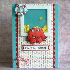 I forgot shaker card by Debby Yates