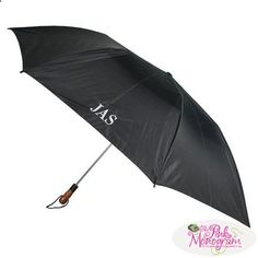 Monogrammed Golf Umbrella