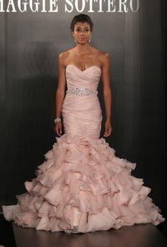 Maggie Sottero, abito da sposa rosa