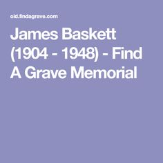 James Baskett (1904 - 1948) - Find A Grave Memorial
