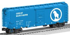 Lionel Trains Great Northern PS-1 Boxcar #11310