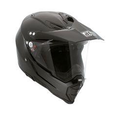AGV AX-8 Evo Dual Sport Helmet - Mono Black $399.95
