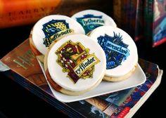 LOVE ♥ Harry Potter Butterbeer cookies from non other than @Bakeat350Tweets