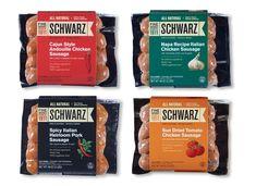 sausages packaging - Поиск в Google Food Packaging Design, Brand Packaging, Chorizo, Meat Packing, Label Design, Package Design, Chicken Sausage, Sauce, Packaging
