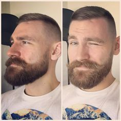 Best Beards Styles Probably one of the most common questions that I ever get is how do I make my beard thicker and fuller? Beard Styles For Men, Hair And Beard Styles, Short Hair Styles, Great Beards, Awesome Beards, Mens Facial, Facial Hair, Mustache Men, Moustache