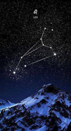 * Созвездие Льва...