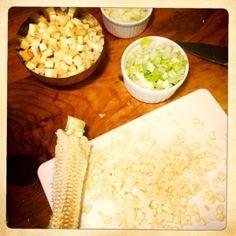 Parsnip & Leek Chowder with Charred Broccoli
