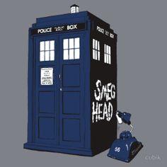 Bad Smeg Head. Red Dwarf. Doctor Who.