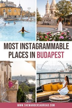 Are you looking for the most instagrammable places in Budapest? Trust me, as a local I know the best photography places in Budapest and in this guide I will share all the best Budapest Instagram spots with you! #budapest #hungary #instagrammable #shewandersabroad | Budapest Photos | Best Instagram Spots in Budapest | Budapest Photography Guide | Best things do to in Budapest | Most beautiful places in Budapest | What to see in Budapest | Best views in Budapest | Budapest Travel Tips Europe Travel Guide, Travel Guides, Travel Destinations, Traveling Europe, Photography Guide, Travel Photography, Travel Pictures, Travel Photos, Budapest Travel