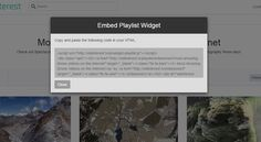 Easily Embed List of Videos With Single Embed Code