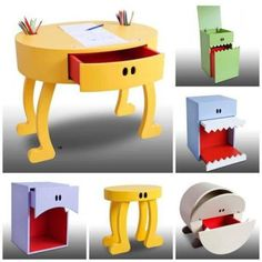 Creative and Funny Furniture Mais Funny Furniture, Unique Furniture, Kids Furniture, Furniture Cleaning, Furniture Dolly, Furniture Removal, House Furniture, Furniture Outlet, Office Furniture