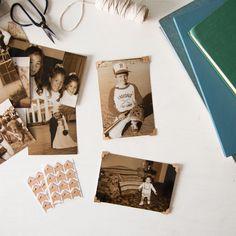 Kraft Photo Corners | Magnolia Market | Craft Room | Chip & Joanna Gaines | Waco, TX