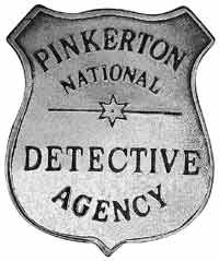 pinkerton detective....(pinkertons were originally of the Railroads, formed to protect payroll robberies from outlaws)