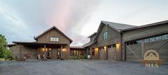 Rustic Montana Home #dreamhome #rustichome #rustic #montana #bozeman #montanahomes #bozemanrealestate #home
